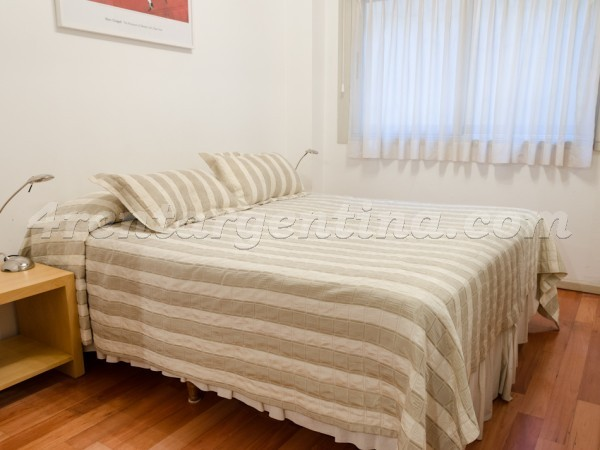 Bulnes and Santa Fe IV: Furnished apartment in Palermo