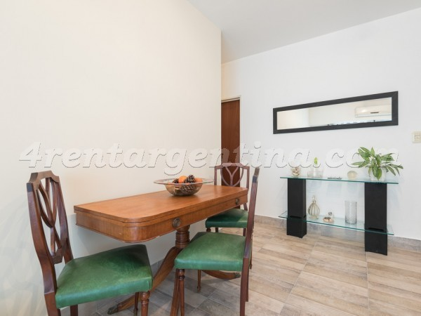 Gallo and Lavalle II: Furnished apartment in Abasto