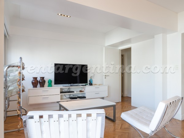 Vicente Lopez and Pueyrredon X, apartment fully equipped