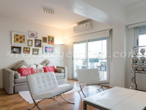 Vicente Lopez and Pueyrredon X: Furnished apartment in Recoleta