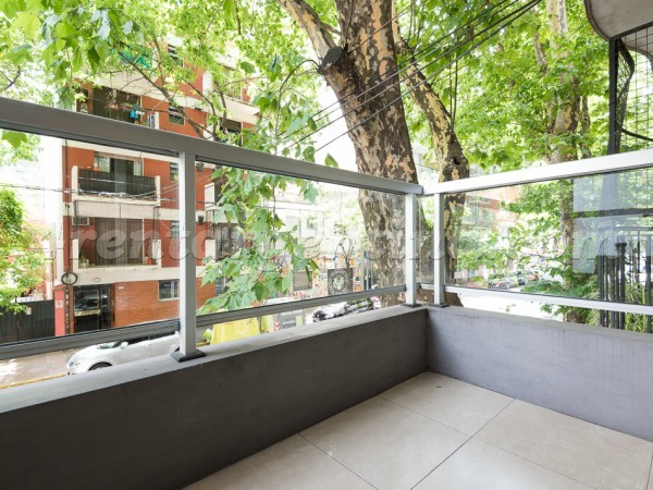 Oro and Guatemala I: Apartment for rent in Palermo