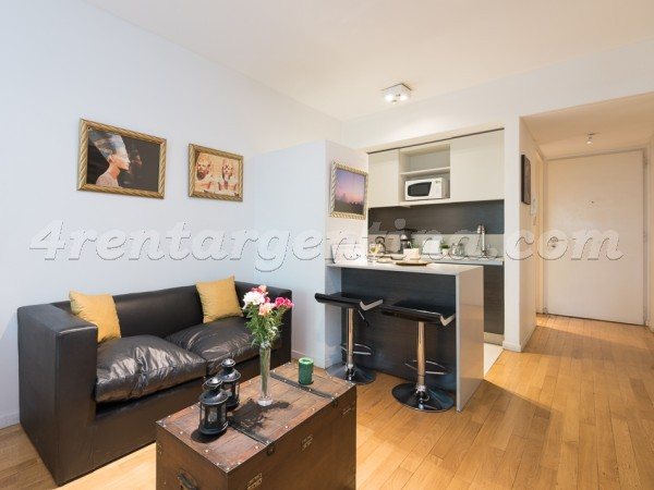 Oro et Guatemala I: Furnished apartment in Palermo