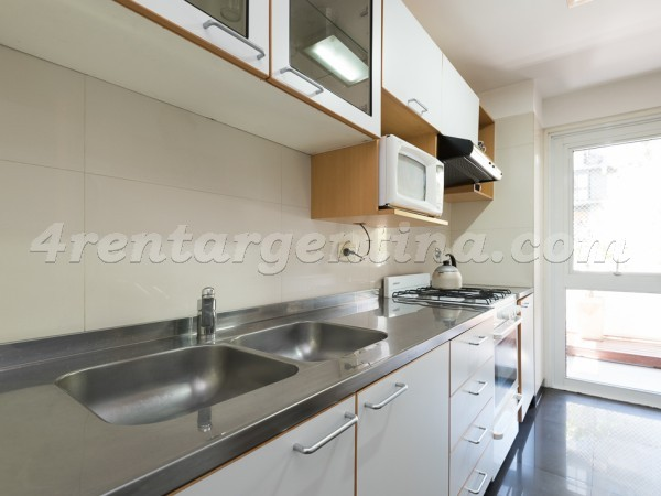 Cervi�o and Lafinur I: Furnished apartment in Palermo