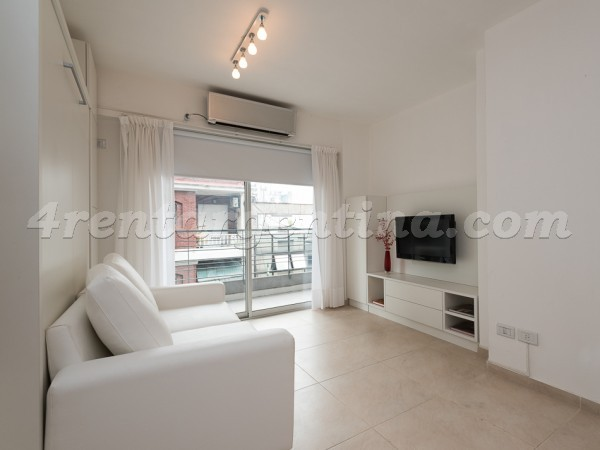 Viamonte and Junin I: Furnished apartment in Downtown