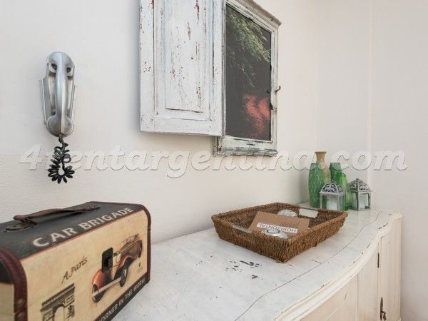 Austria and Pacheco de Melo, apartment fully equipped