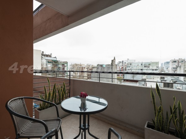 Corrientes and Billinghurst II: Apartment for rent in Almagro