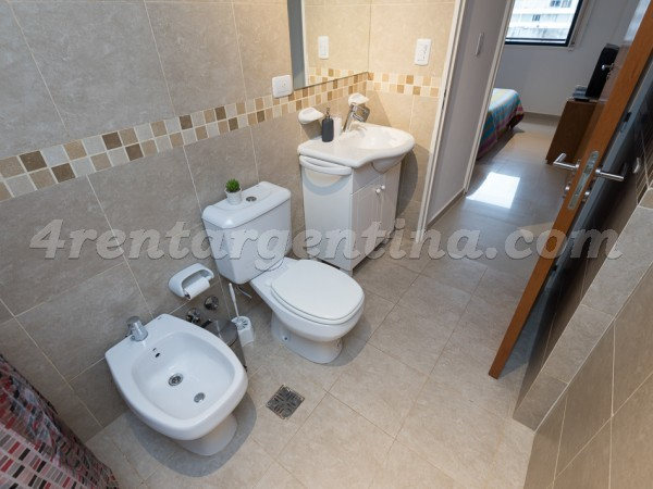 Corrientes and Billinghurst II, apartment fully equipped