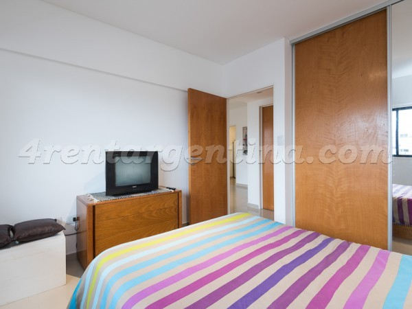 Corrientes and Billinghurst II: Furnished apartment in Almagro
