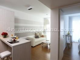 Apartamento Rep. de Eslovenia e Baez IX - 4rentargentina