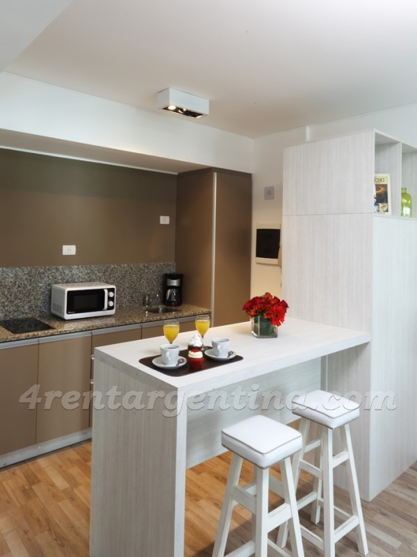 Rep. de Eslovenia and Baez X: Furnished apartment in Las Ca�itas