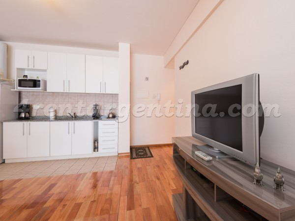 Carlos Gardel and Anchorena I: Furnished apartment in Abasto