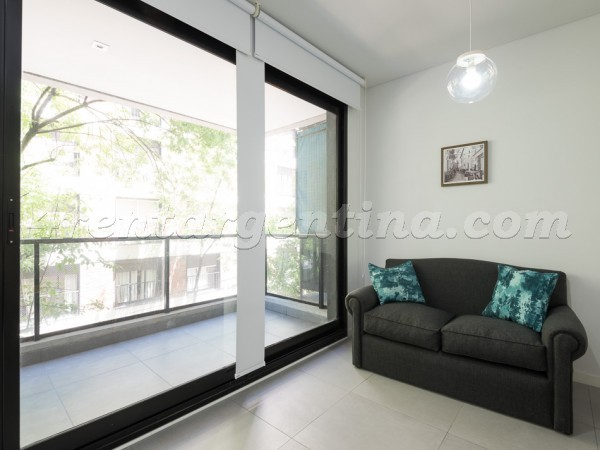 Ayacucho et Paraguay: Furnished apartment in Recoleta