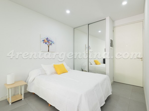 Ayacucho and Paraguay: Furnished apartment in Recoleta
