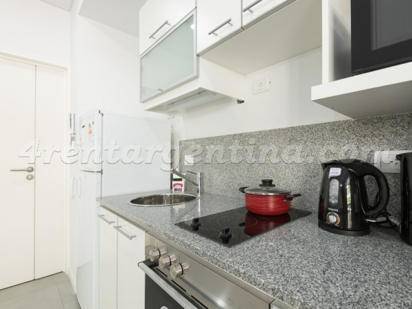 Ayacucho and Paraguay, apartment fully equipped