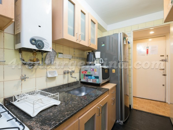 Sarmiento and Rodriguez Pe�a: Furnished apartment in Downtown