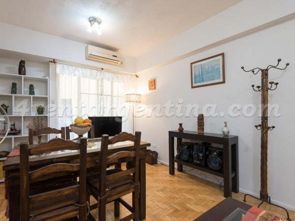 Sarmiento and Rodriguez Pe�a, apartment fully equipped