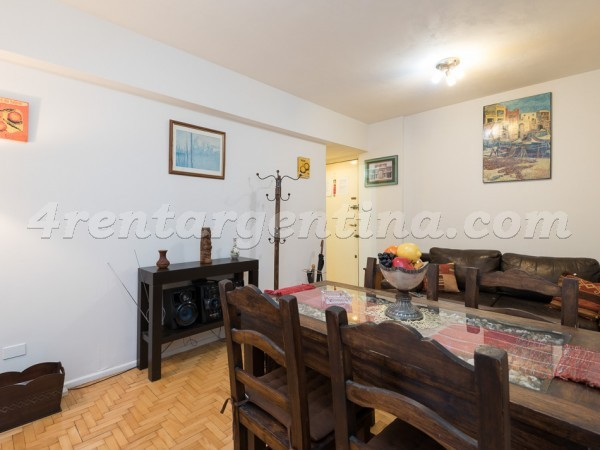 Sarmiento and Rodriguez Pe�a: Apartment for rent in Buenos Aires