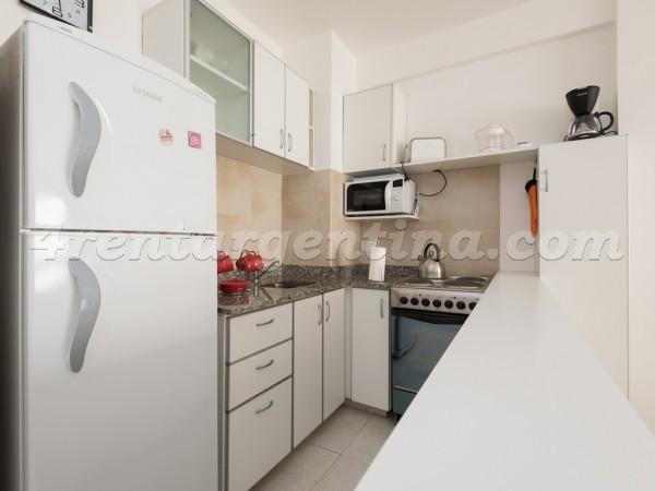 Corrientes et Junin III: Furnished apartment in Downtown
