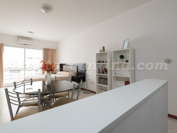 Corrientes et Junin III: Furnished apartment in Downtown