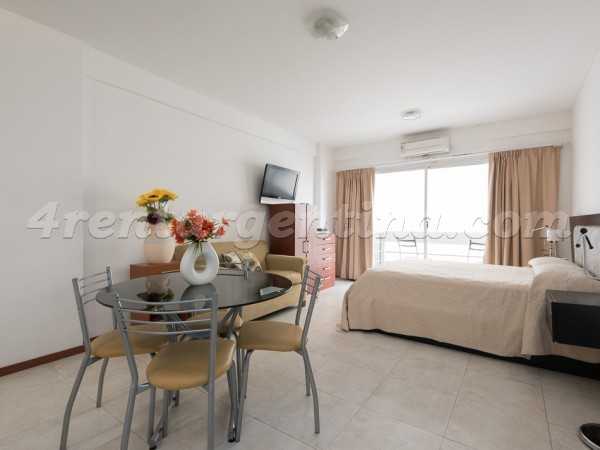 Corrientes and Junin III: Furnished apartment in Downtown
