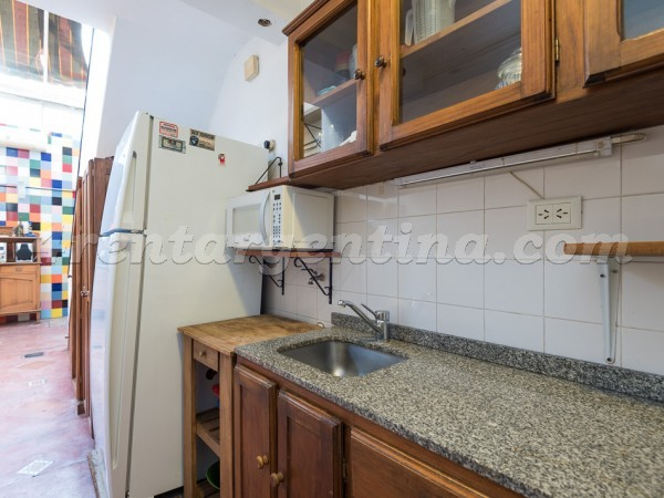 Malabia and Soler: Furnished apartment in Palermo
