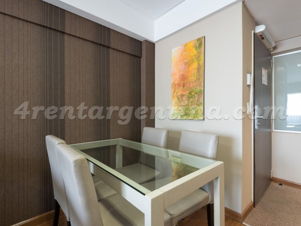 Libertad and Juncal: Furnished apartment in Recoleta