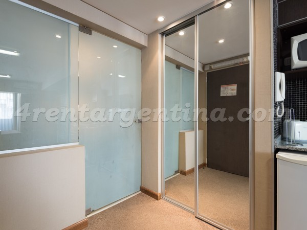 Libertad and Juncal, apartment fully equipped