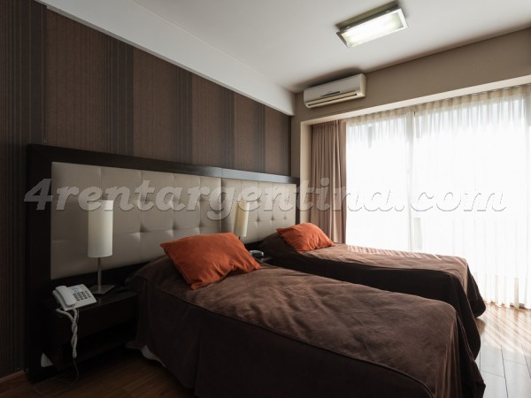 Libertad and Juncal II: Furnished apartment in Recoleta