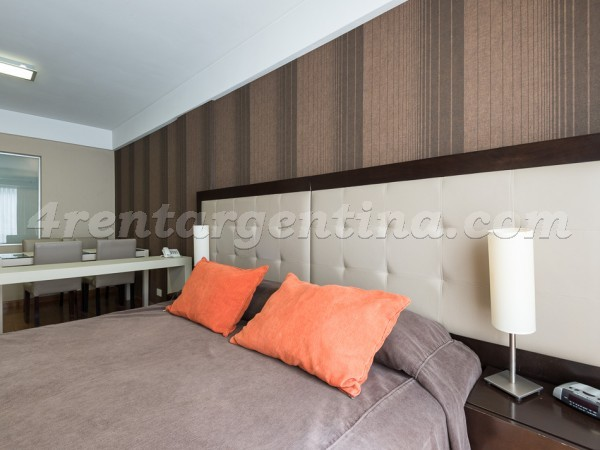 Libertad et Juncal III: Furnished apartment in Recoleta