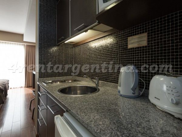 Libertad et Juncal XXII, apartment fully equipped