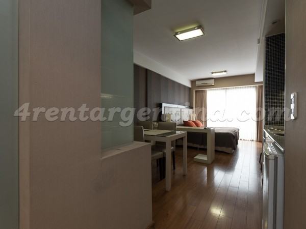 Libertad and Juncal XXIII: Furnished apartment in Recoleta