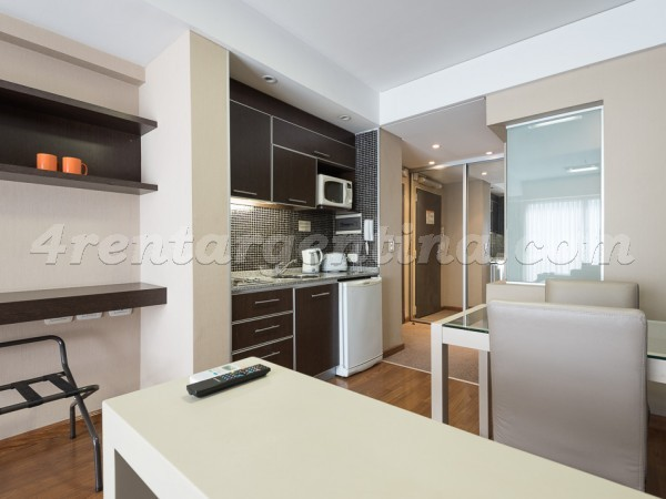 Libertad and Juncal XXVIII: Furnished apartment in Recoleta