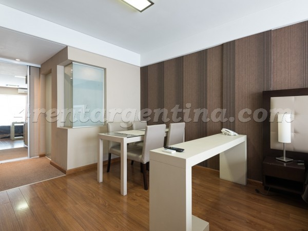 Libertad and Juncal XXIX: Furnished apartment in Recoleta