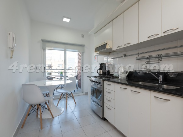 Manso and Ezcurra VII, apartment fully equipped