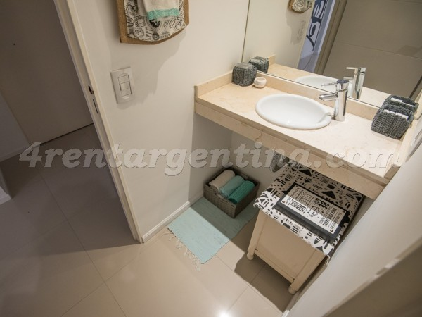 Avellaneda and Lobos: Furnished apartment in Caballito