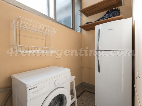 Tacuari and Mexico, apartment fully equipped