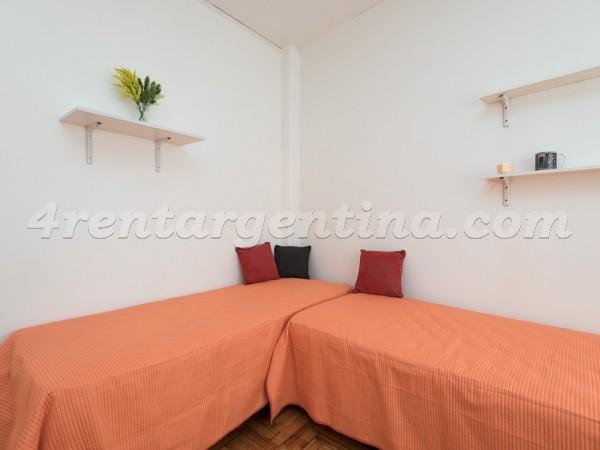 Apartamento Amoblado en Federico Lacroze y L.M. Campos, Belgrano