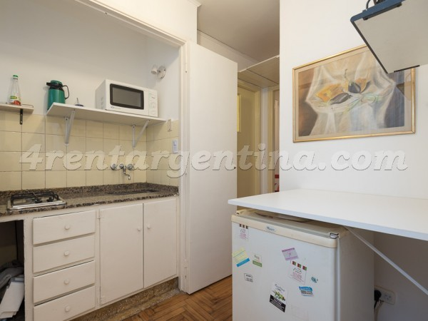 Federico Lacroze and L.M. Campos, apartment fully equipped