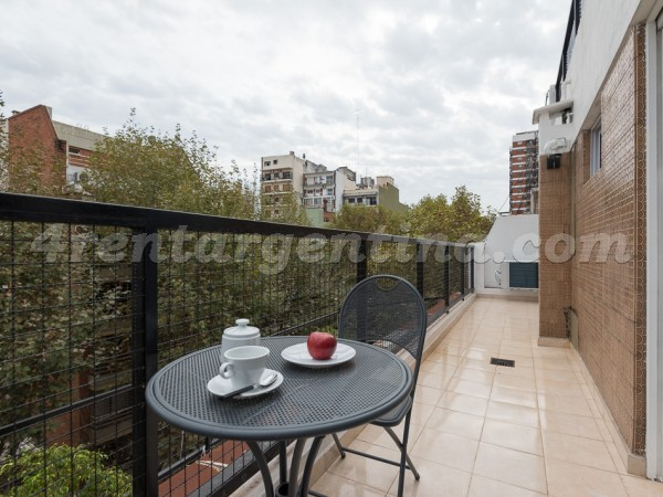 Aguilar and Cabildo I: Furnished apartment in Belgrano