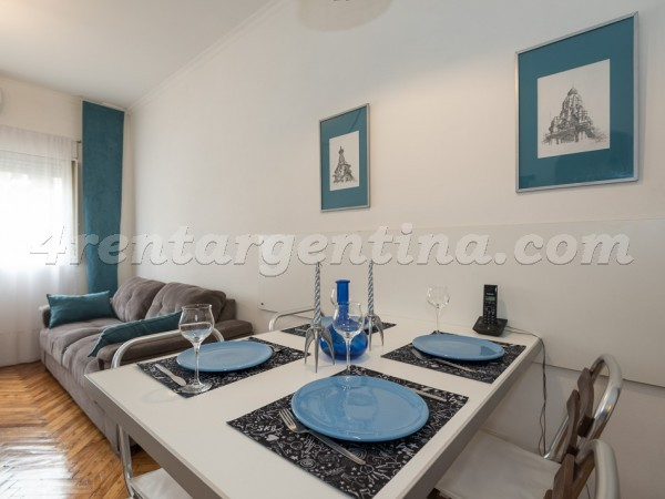 Blanco Encalada and Vidal: Furnished apartment in Belgrano