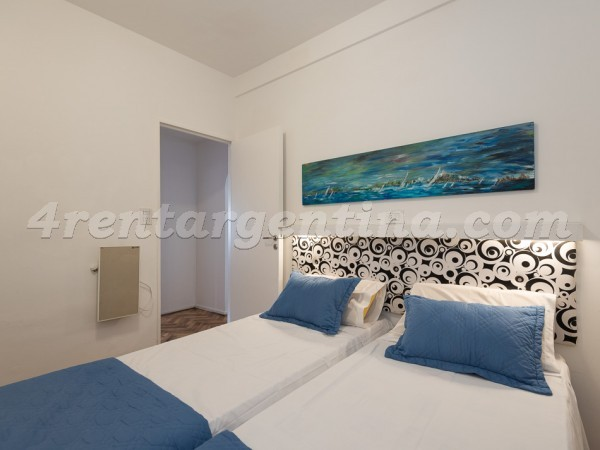 Blanco Encalada and Vidal, apartment fully equipped