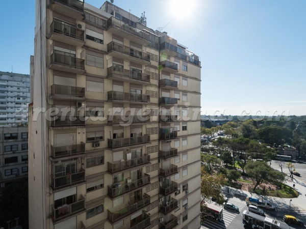 Borges and Santa Fe II: Apartment for rent in Palermo