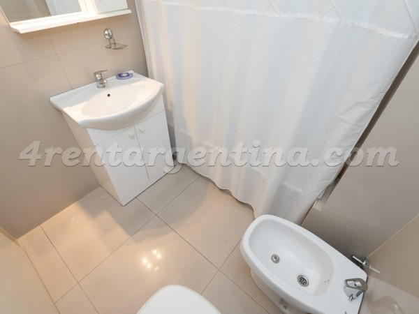 Peron and Montevideo X, apartment fully equipped