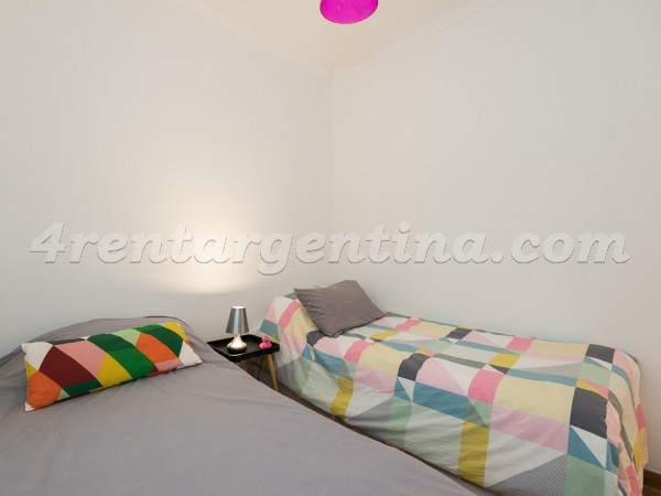 Guatemala and Gurruchaga: Furnished apartment in Palermo