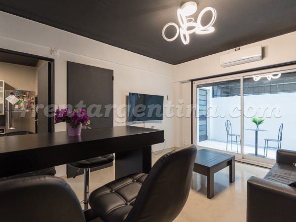 Santa Fe and Scalabrini Ortiz III: Furnished apartment in Palermo