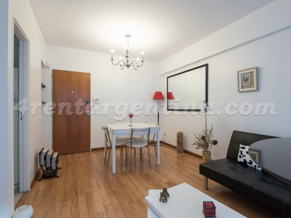 Pedro Goyena and Bertres: Furnished apartment in Caballito