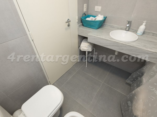 Gorriti and Arevalo I, apartment fully equipped