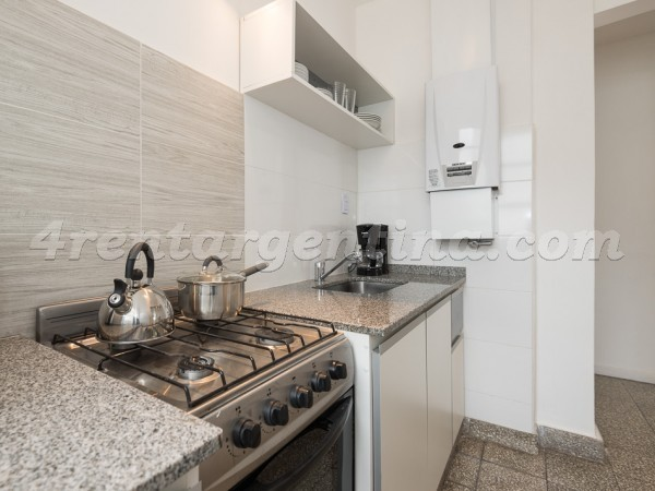 Blanco Encalada and Naon: Furnished apartment in Belgrano