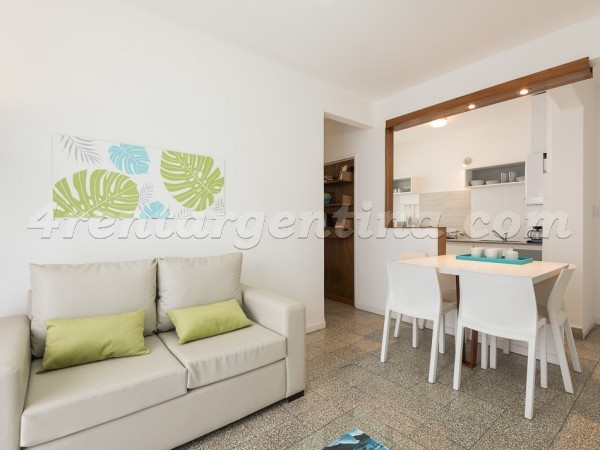Blanco Encalada and Naon, apartment fully equipped