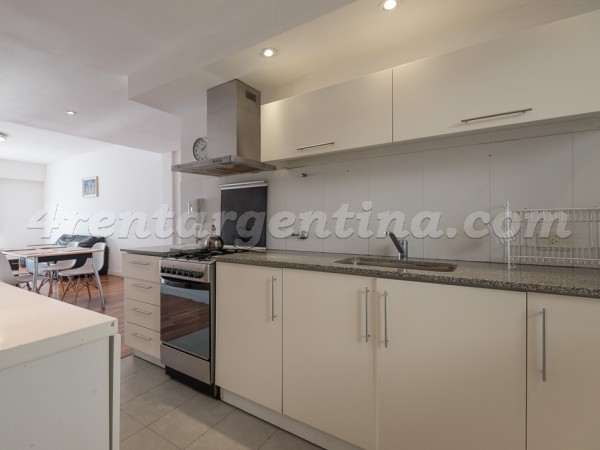 Las Heras and Junin II: Furnished apartment in Recoleta
